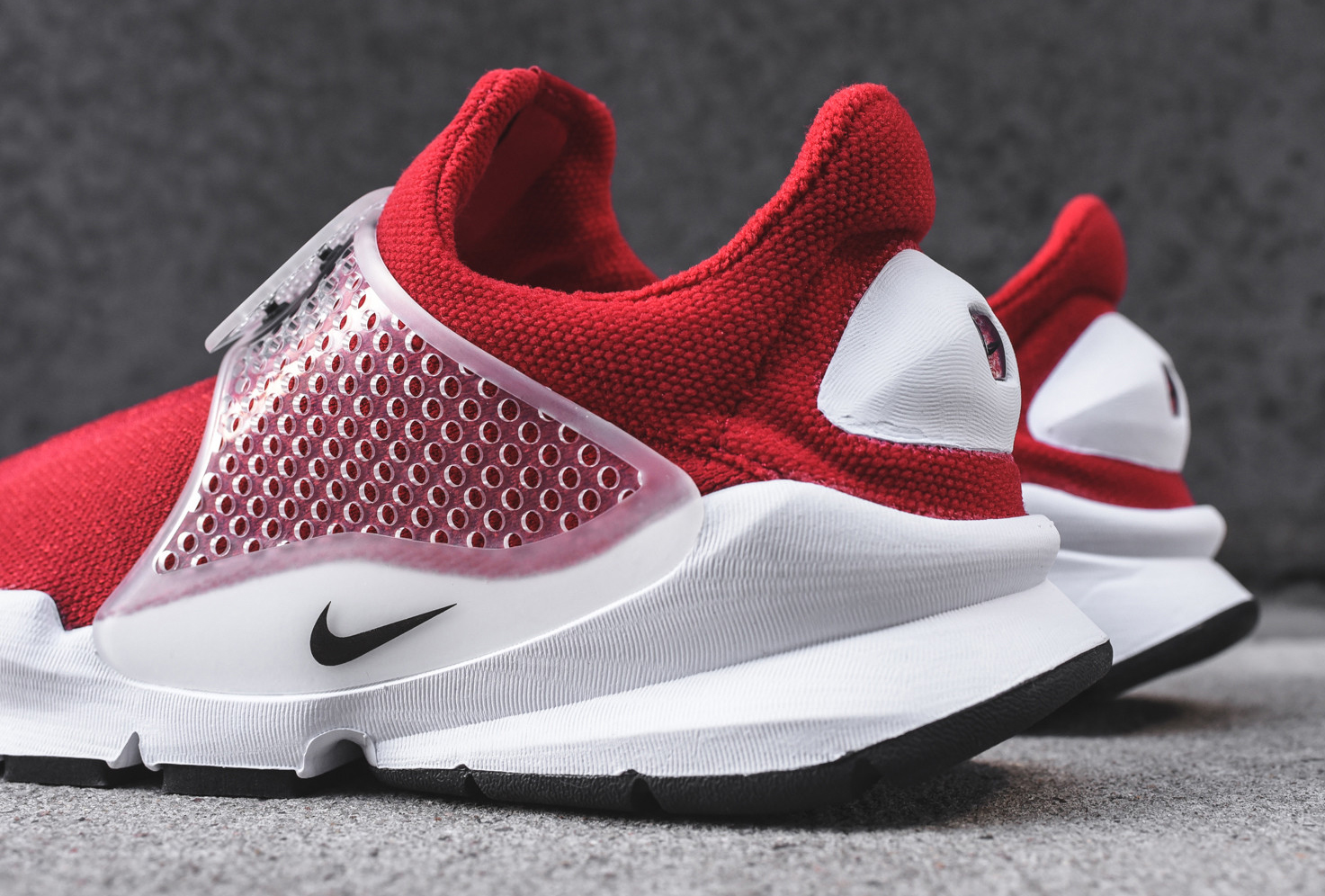 sale retailer 80384 a330d greece nike sock dart sp red white 7df1d 6c3be
