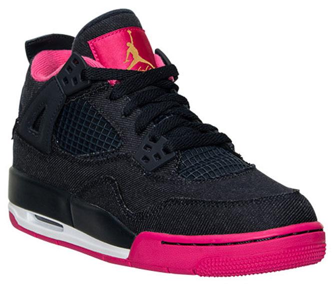 nike shox concevoir votre chaussure - Jordan Brand Covers The Air Jordan 4 Retro In Denim | Sole Collector