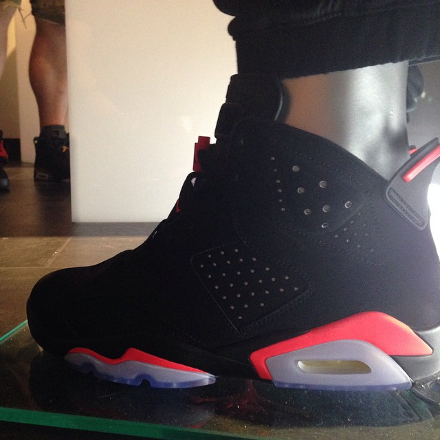 Air Jordan VI 6 Infrared Holiday 2014 (1)