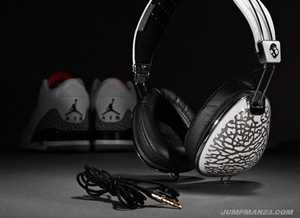 Jordan Brand x Skullcandy Aviator - Air Jordan Retro 3 Cement