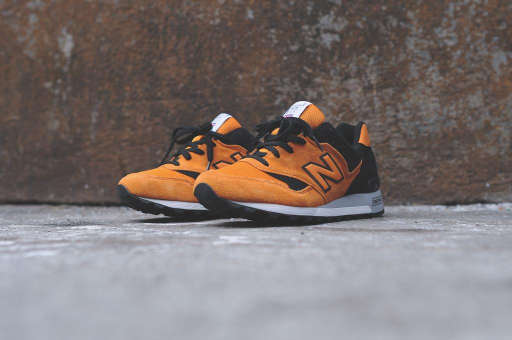 new balance 577 made in england orange