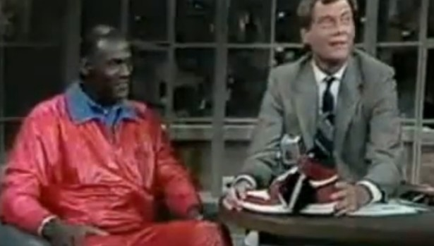 Michael Jordan Talks Air Jordan I on Letterman in 1986