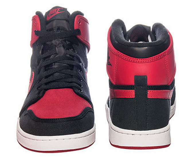 new concept bdd02 7e9df See How the  Bred  Air Jordan 1 KO Looks On-Feet   Sole Collector