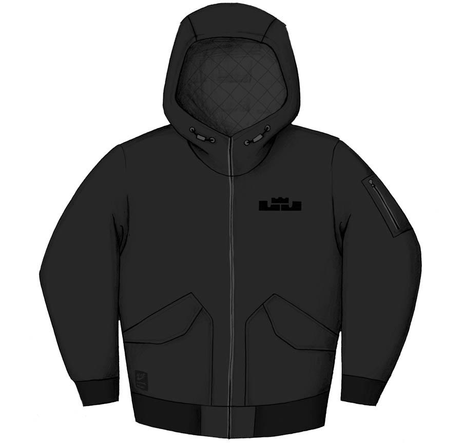 0d693932f01b3 Nike Sportswear LeBron James Holiday 2011 Signature Product. LeBron N98  Jacket