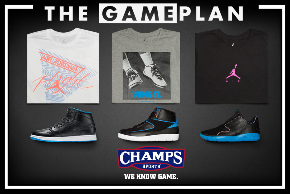 sports shoes 9d3f4 e0080 The Game Plan by Champs Sports Presents the Jordan Boombox Collection