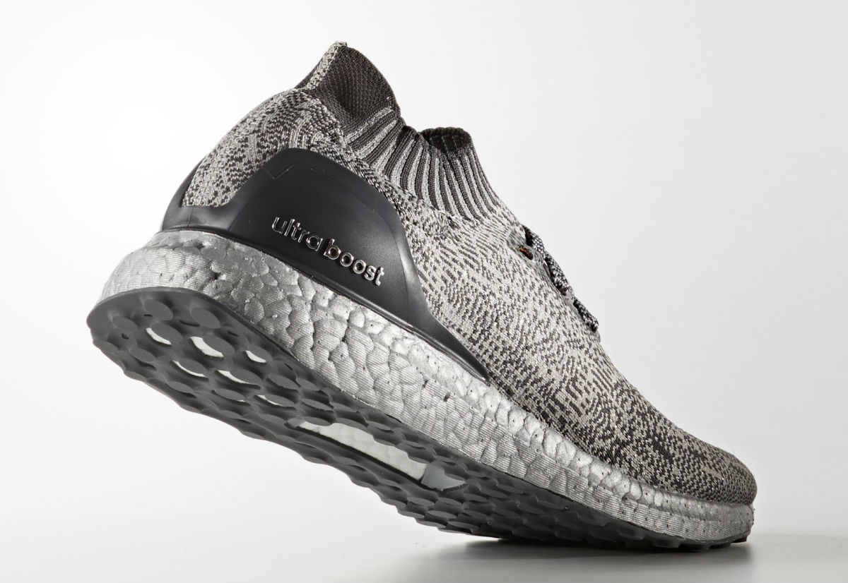 Adidas Ultra Boost Uncaged Metallic Silver Lateral BA7997