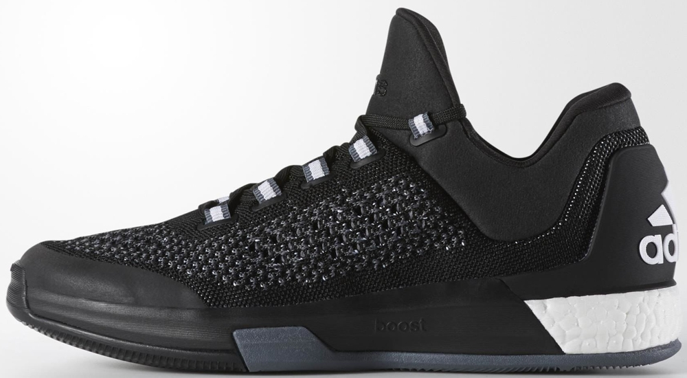adidas Crazylight Boost 2015 Core Black/Core Black-Clear Grey