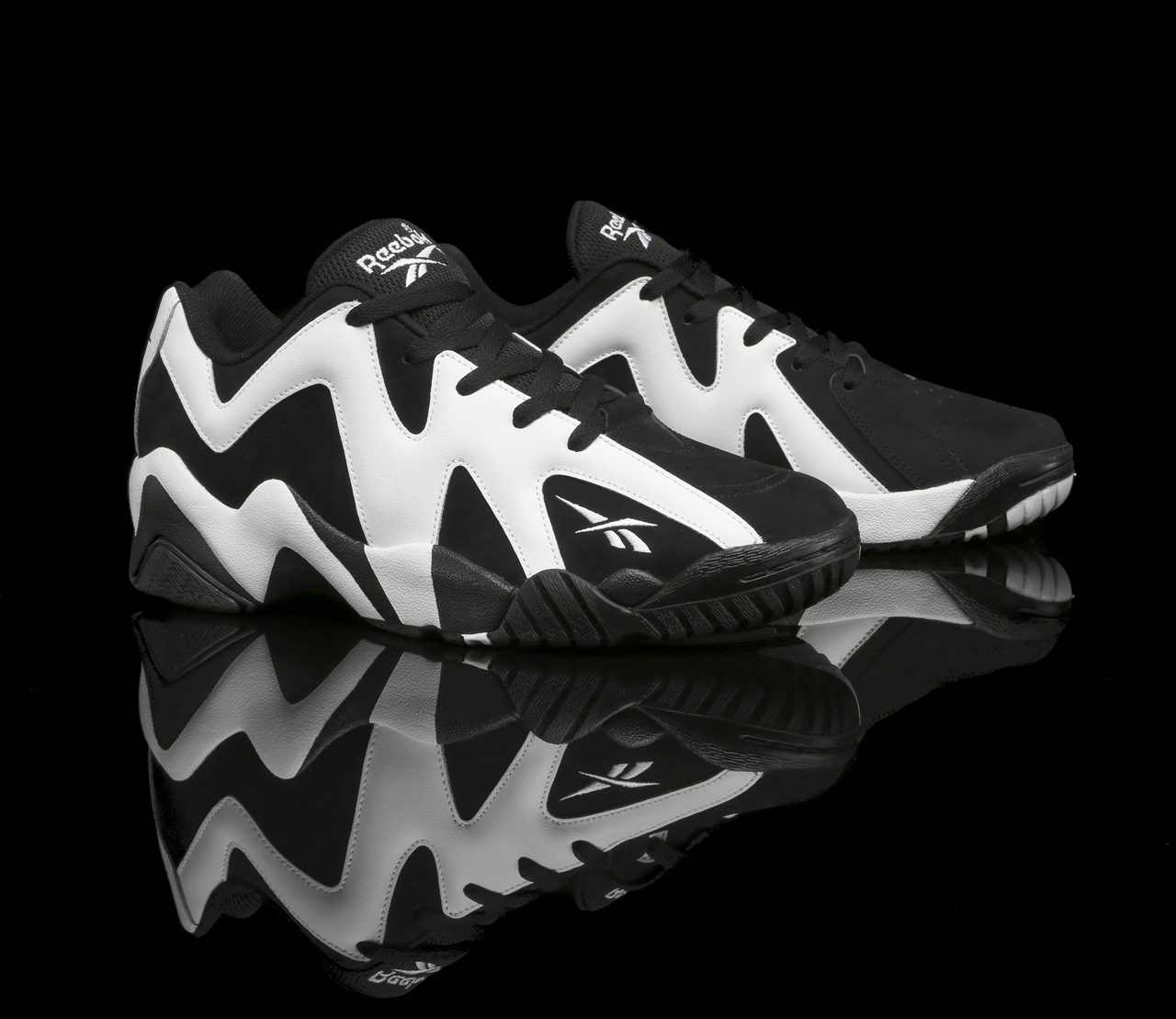 06e79ef5e569 Reebok Kamikaze II Low  Black White  Releasing This Month
