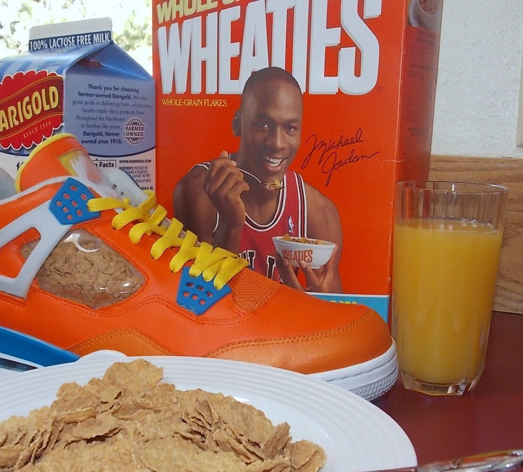 Air Jordan IV 4 Wheaties by emmanueLabor (1)