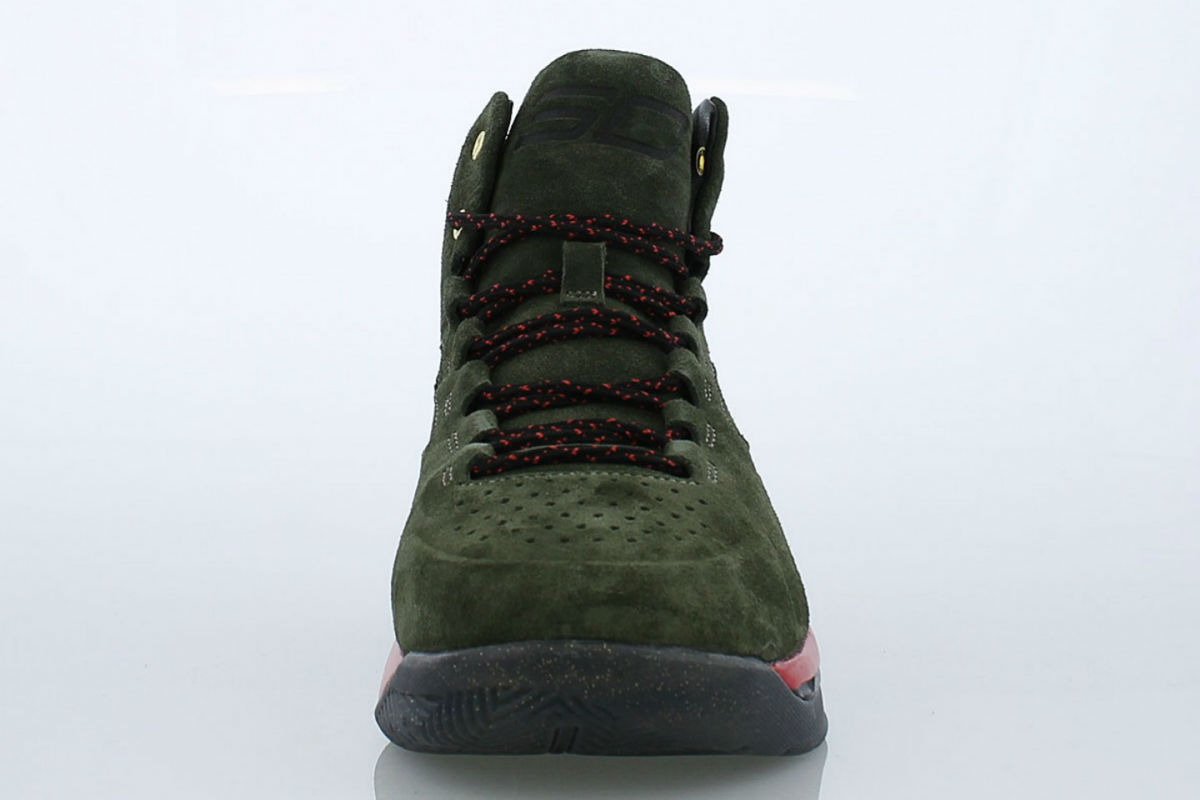 Under Armour Curry 1 Lux Gucci Front 1296617-330