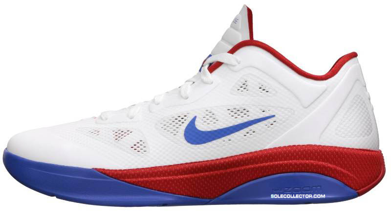 watch f8dc9 a2675 Nike Zoom Hyperfuse 2011 Low White Varsity Red Varsity Royal 454137-103