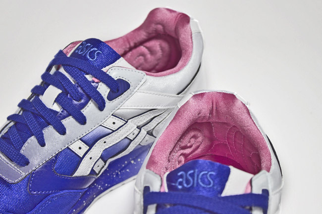 Extra Butter NY x ASICS Gel Saga Cottonmouth lining