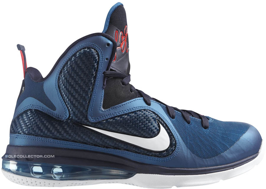 Nike LeBron 9 IX Swingman Griffey Shoes 469764-300