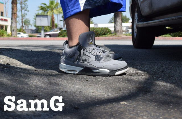 Spotlight: Forum Staff Weekly WDYWT? - 4.20.14 - lashoecollector wearing Air Jordan IV 4 Cool Grey