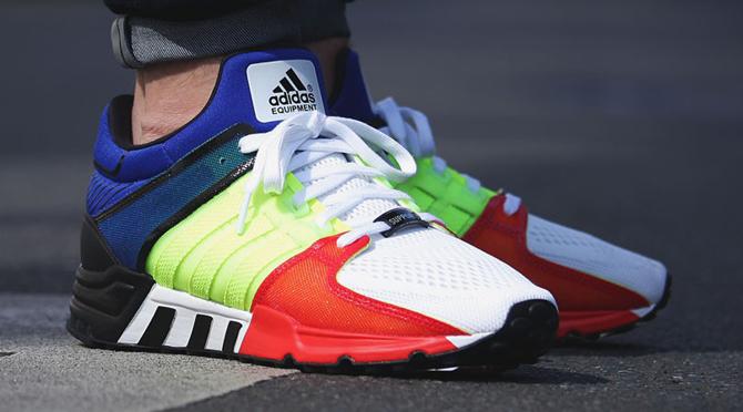 Adidas Eqt 93 Yellow