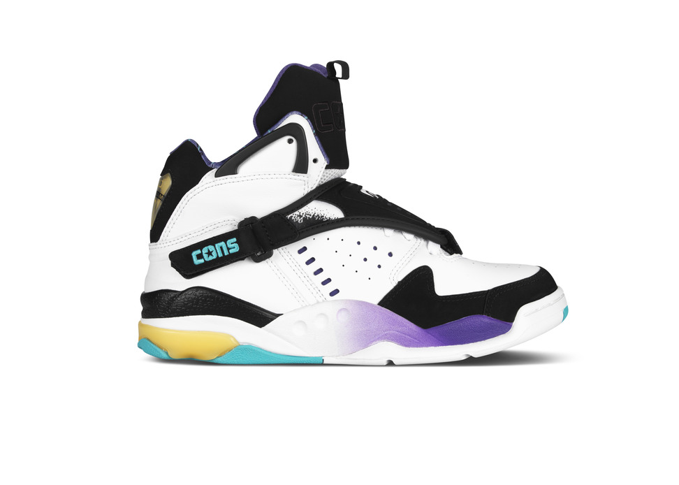 3360d9b2a159af Converse Aero Jam - OG White Purple Teal Colorway Returns