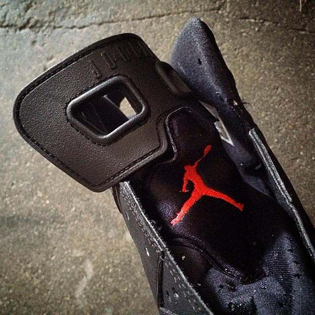 Air Jordan VI 6 Black/Infrared Release Date 384664-023 (3)