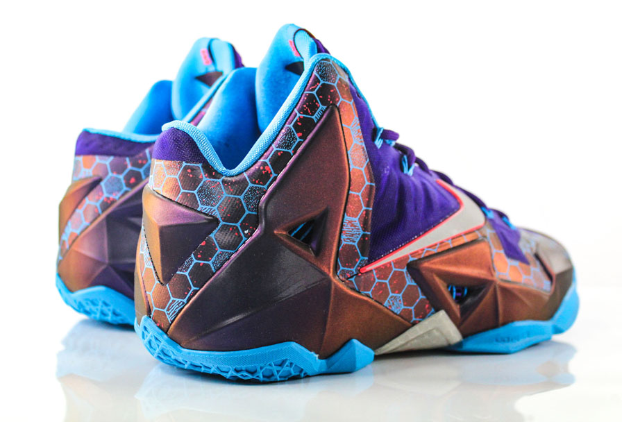 Nike LeBron 11 Summit Lake Hornets 616175-500 (5)