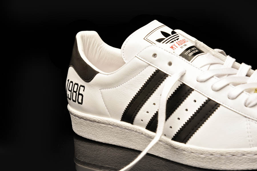 "adidas Originals Superstar 80s - Run DMC ""My adidas"" 25th Anniversary 9"