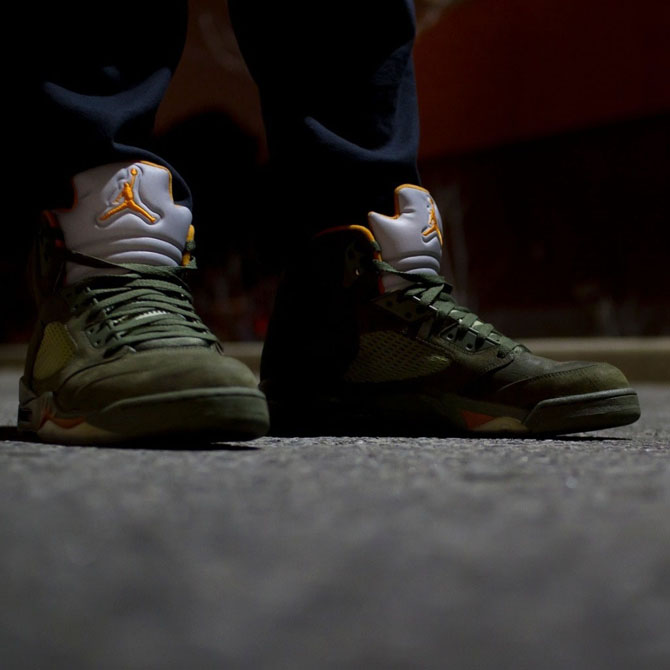 5aa36e0577dc In Context  The  Olive  Air Jordan 5