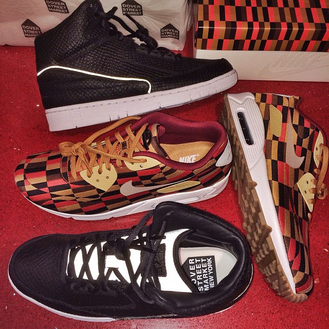 DJ Skee Picks Up DSM x Nike Air Python, London Underground x Nike Air Max 90 Roundel