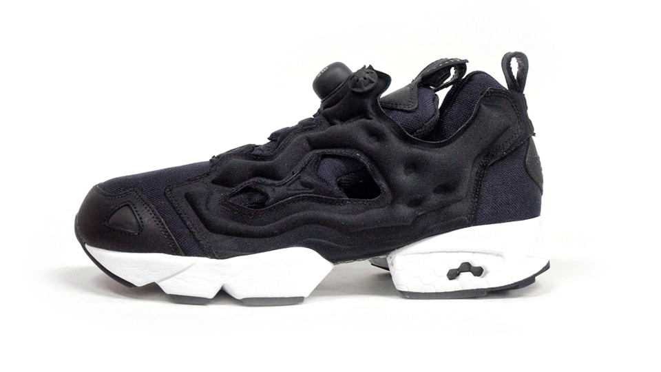 reebok insta pump fury 39 cordura 39 black white sole collector. Black Bedroom Furniture Sets. Home Design Ideas