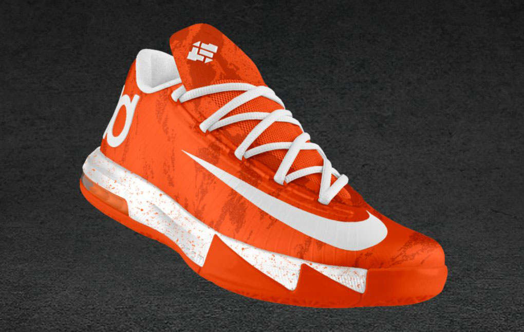 Nike KD 6 iD Spray Camo Texas