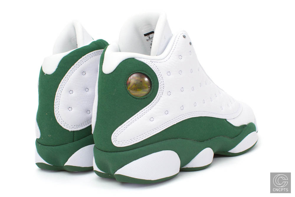 Air Jordan Retro 13 Ray Allen White Clover 414571-125