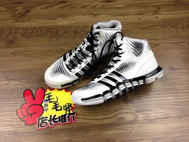 pretty nice b0ba8 eb29d Adidas AdiPure Crazy Quick White Black White