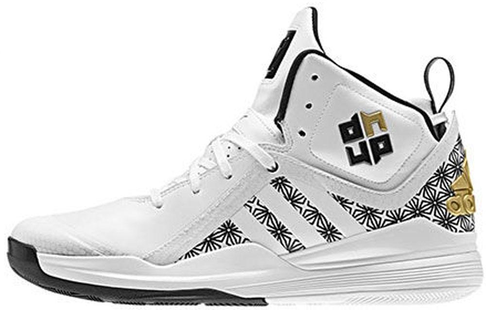 adidas D Howard 5 White/Black-Gold