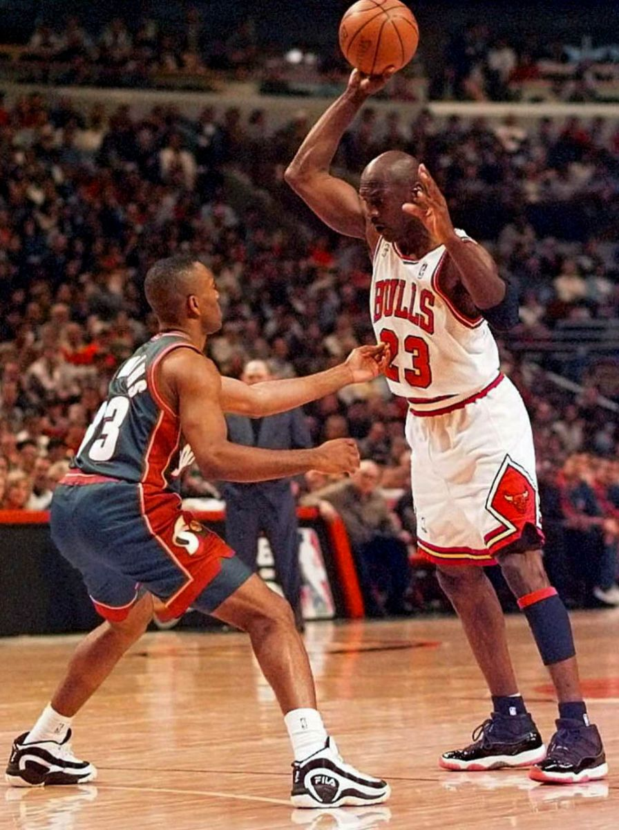 02587859d66c Let s go back to  96 and look at a few great images of MJ wearing one of  the most legendary basketball shoes of all time