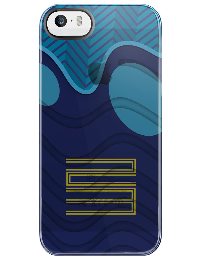 SneakerSt Gamma Blue Air Jordan 11 iPhone Case