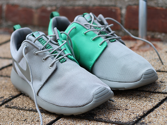 6e749d22c5cc ... where can i buy the grey green nike roshe run split is now available  via select