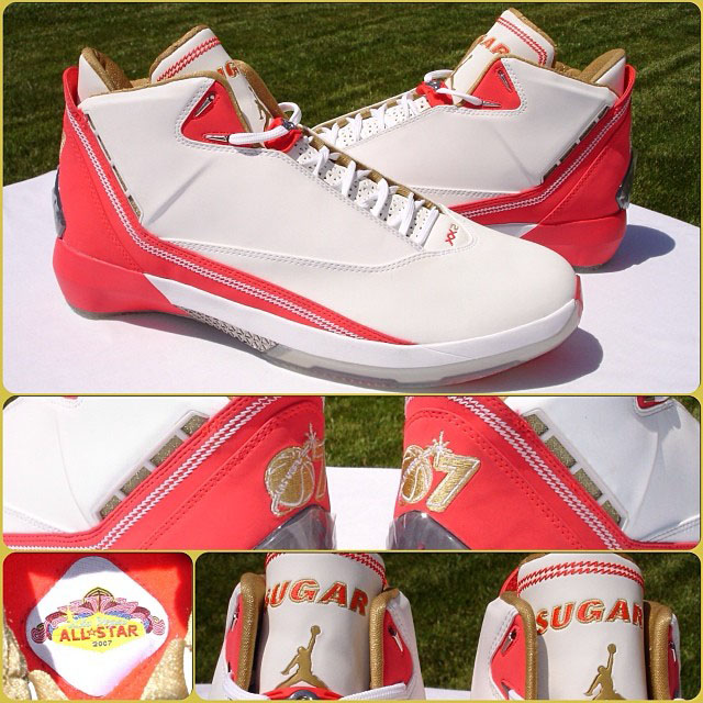 Air Jordan 22 XX2 Ray Allen All-Star PE
