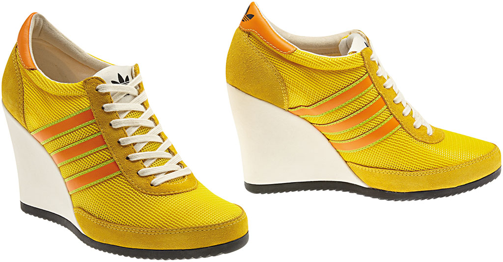 adidas Originals JS Arrow Wedge Yellow Orange G61075 (1)