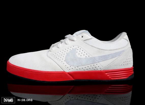 Nike SB Paul Rodriguez V - White Red - Summer 2012  9d4dbef04