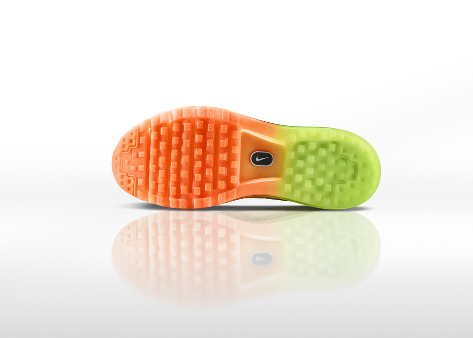 Nike Flyknit Air Max Mens outsole