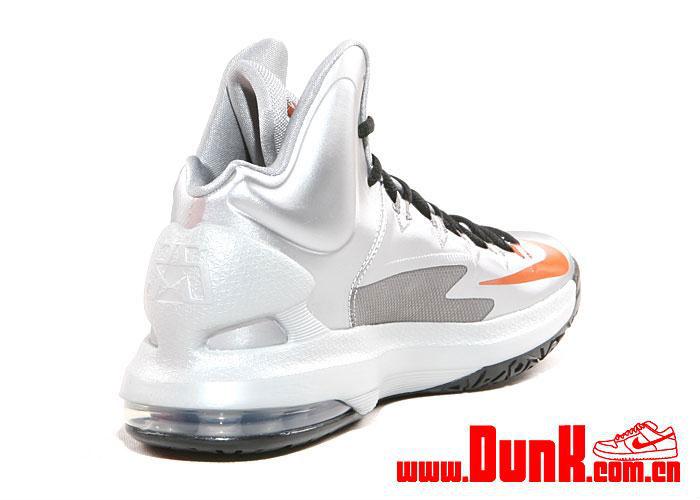 newest 4b348 6252f Nike KD V Metallic Silver Desert Orange Sport Grey Black 554988-002 (5)