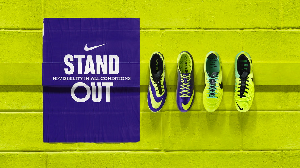 Nike Football Soccer High Visibility Collection 2013