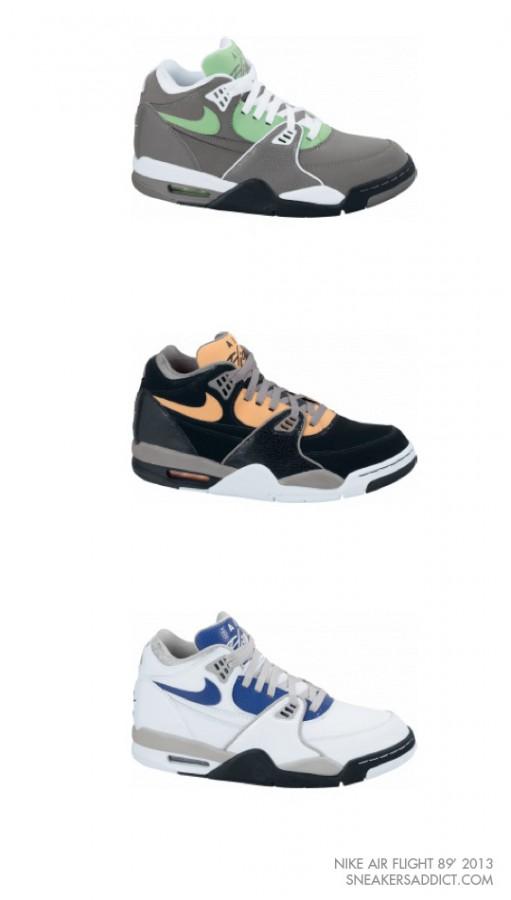 Nike Air Flight '89 - 2013 Colorways