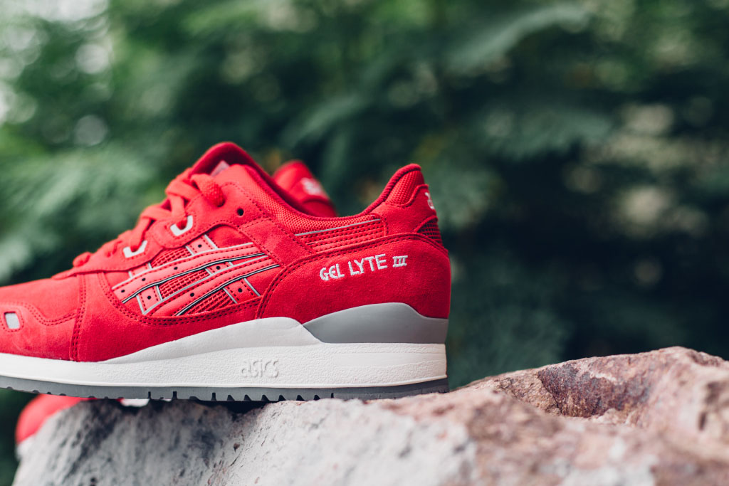 Buy asics red gel lyte iii > Up to OFF56% Discounted