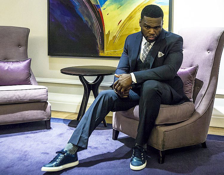 50 Cent Needs a Separate Sneaker Dressing Room at His Shows