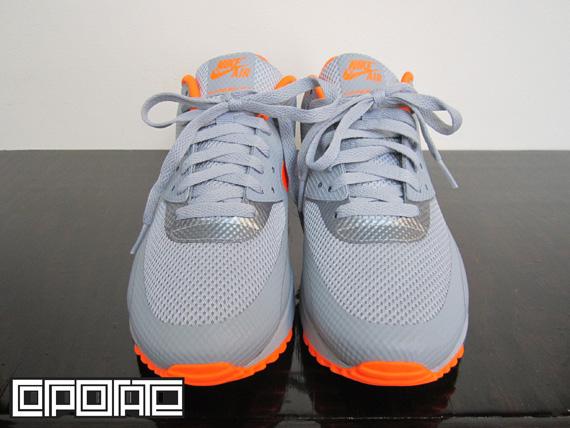 air max 90 hyperfuse grey orange