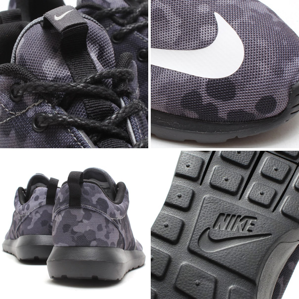 Nike Roshe Run NM FB 'Grey Camo' Details