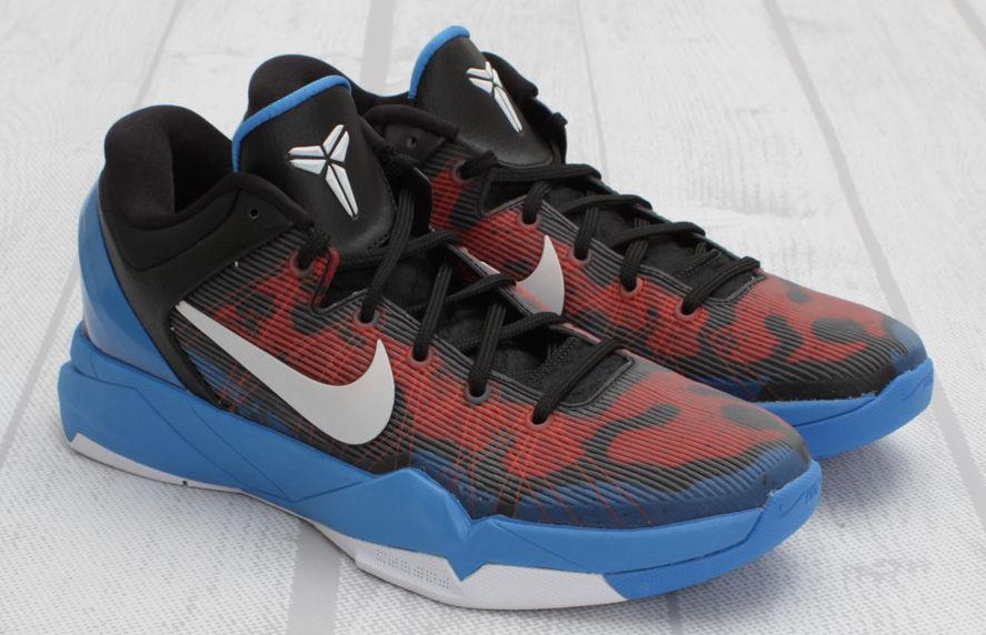 cheap for discount 5bf4f 53404 Nike Kobe VII Poison Dart Frog Photo Blue White Team Orange Black  488371-403 (