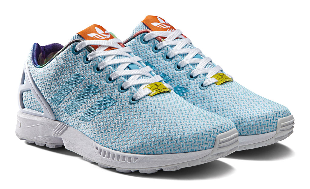 adidas ZX Flux Women's Weave Pack Blue (6)
