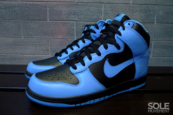 Nike Dunk High - Black/University Blue (1)