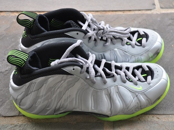 new style 7269b 4d0c6 Nike Air Foamposite One - SIlver/Volt | Sole Collector