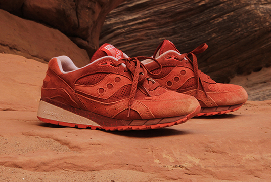 Premier x Saucony Shadow 6000 Life on Mars Pack Red