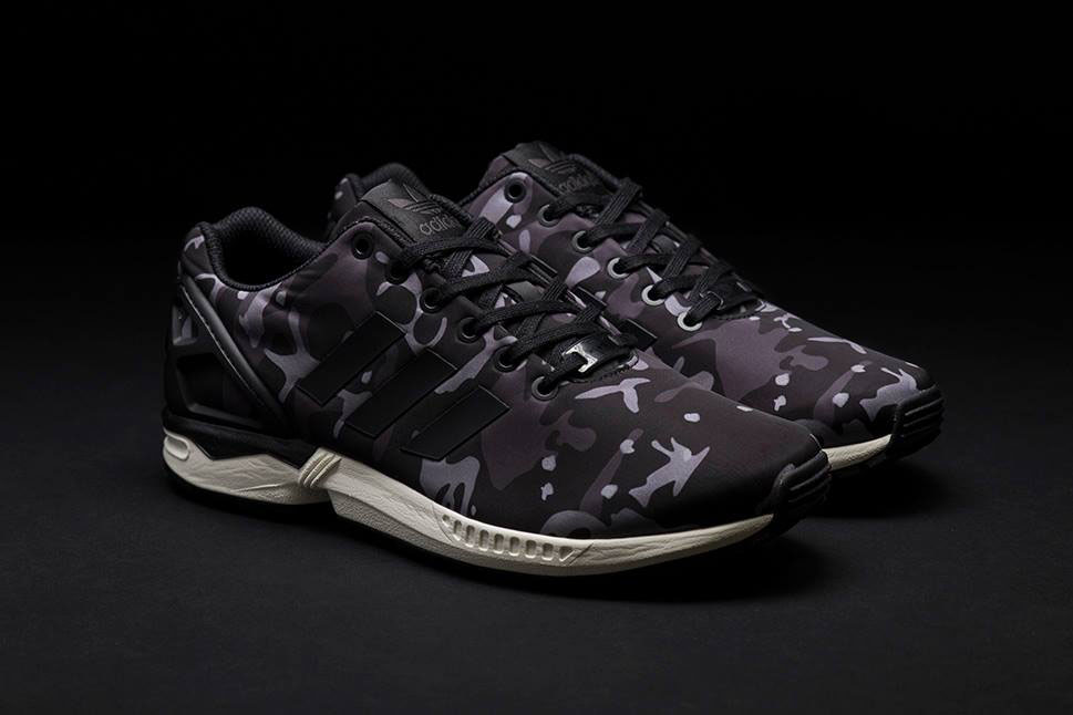 adidas Originals ZX Flux Pattern Pack Exclusive for Sneakersnstuff - Camo (1)